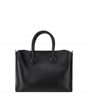 czarna skórzana torba tomskór