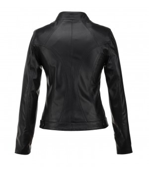 czarna kurtka damska