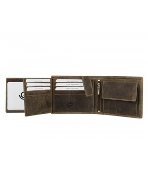 skórzany męski portfel