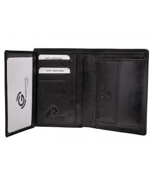 elegancki męski portfel skórzany