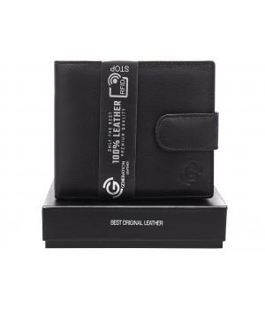 duży męski portfel skórzany