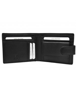 pojemny męski skórzany portfel
