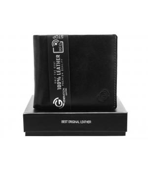 ekskluzywny portfel męski skórzany