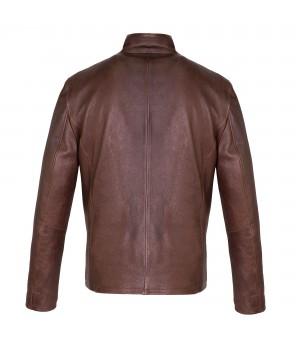 klasyczna skórzana kurtka