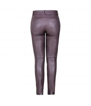 spodnie skórzane damskie czarne