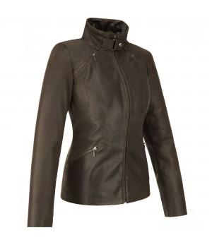 klasyczna kurtka skórzana