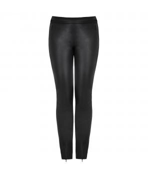 klasyczne spodnie skórzane damskie