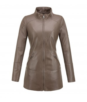 ekskluzywny płaszcz skórzany tomskór
