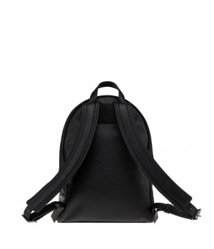 czarny ekskluzywny plecak skórzany