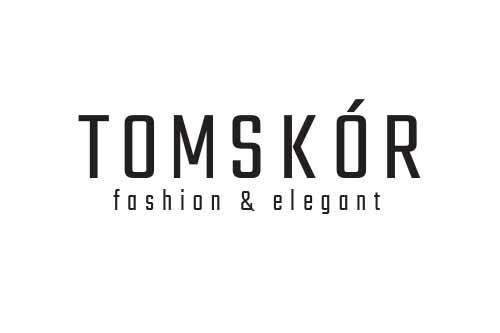 logo tomskór producent odzieży skórzanej